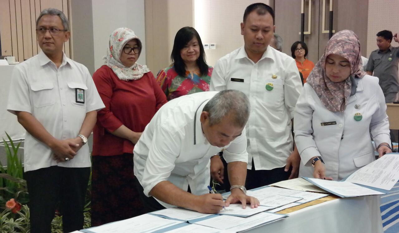 Program USAID IUWAS Plus Pembangunan Air Bersih dan Sanitasi Pilih Kota Bekasi