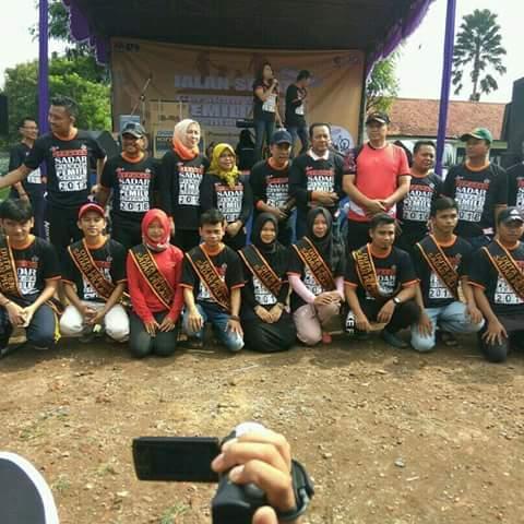 KPUD Purwakarta Sosialisasikan Pemilu 2018 Melalui Gerakan Jalan Santai