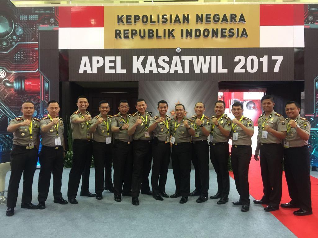 Kapolres dan Perwira Tinggi Jajaran Polda Jawa Barat Apel Kasatwil di Semarang