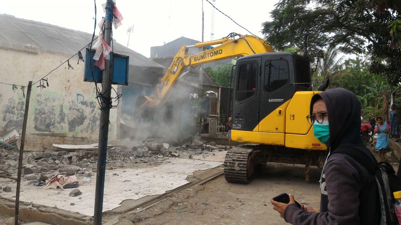 Pelebaran Jalan, Pemkot Bekasi Bongkar Bangunan Liar