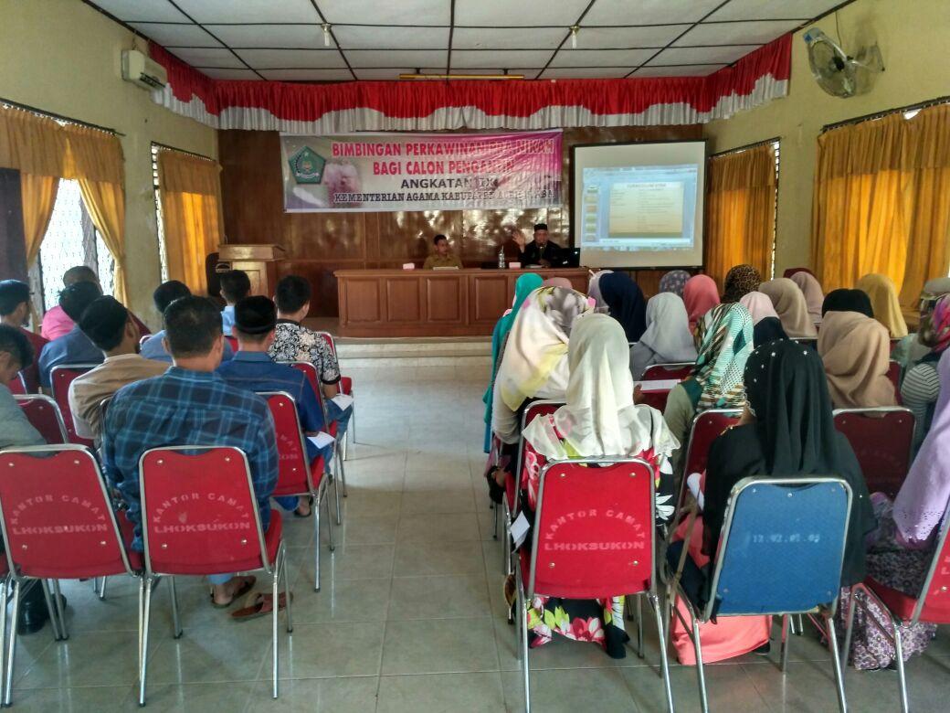 Kemenag Aceh Utara Gelar Bimbingan Pra Nikah