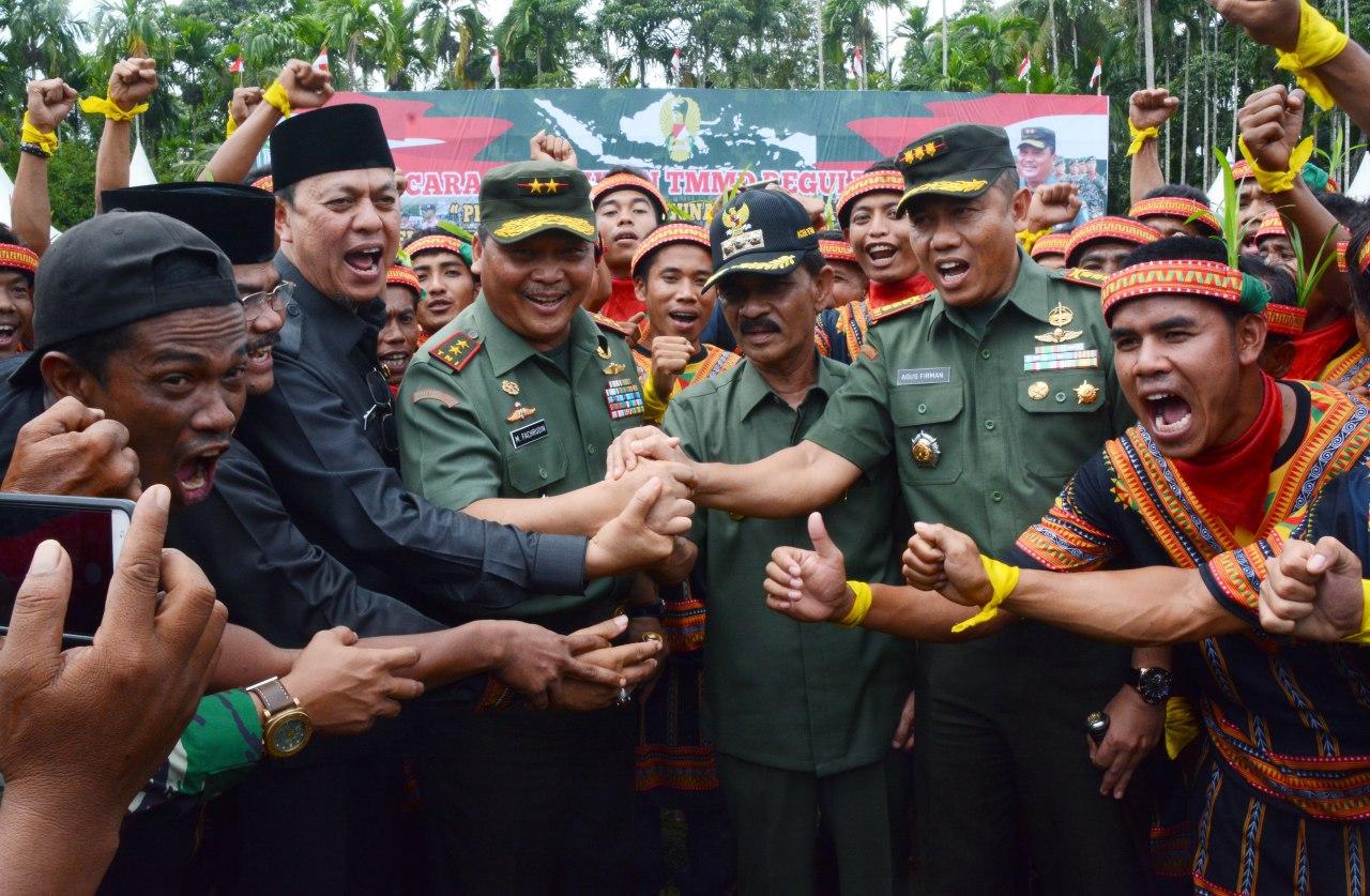 Pangdam Moch Fachrudin: TMMD Membantu Pemerintah Tingkatkan Kesejahteraan Masyarakat