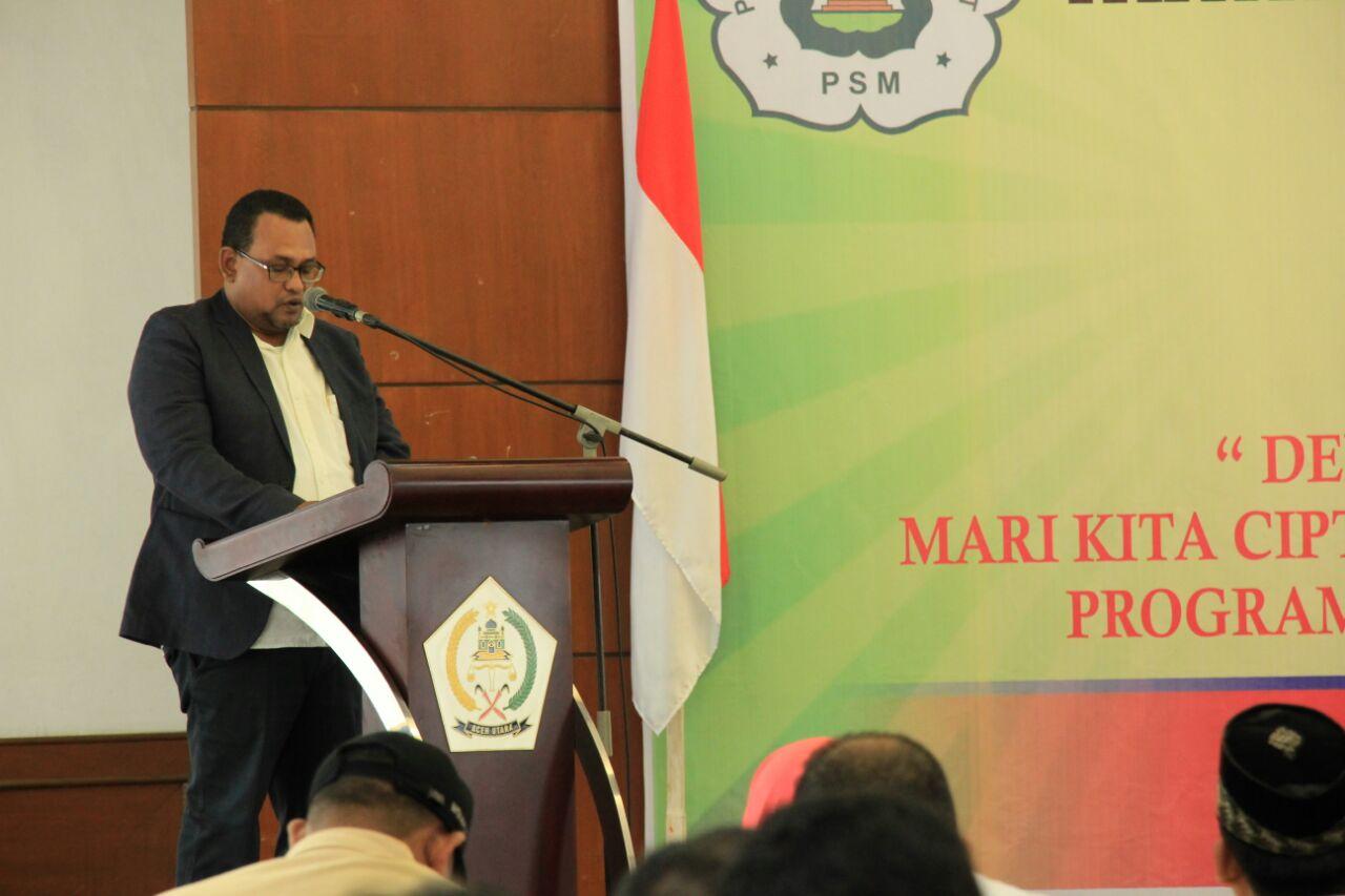 Wabup, Fauzi Yusuf Buka Muskab IPSM Ke 4 Aceh Utara Tahun 2017
