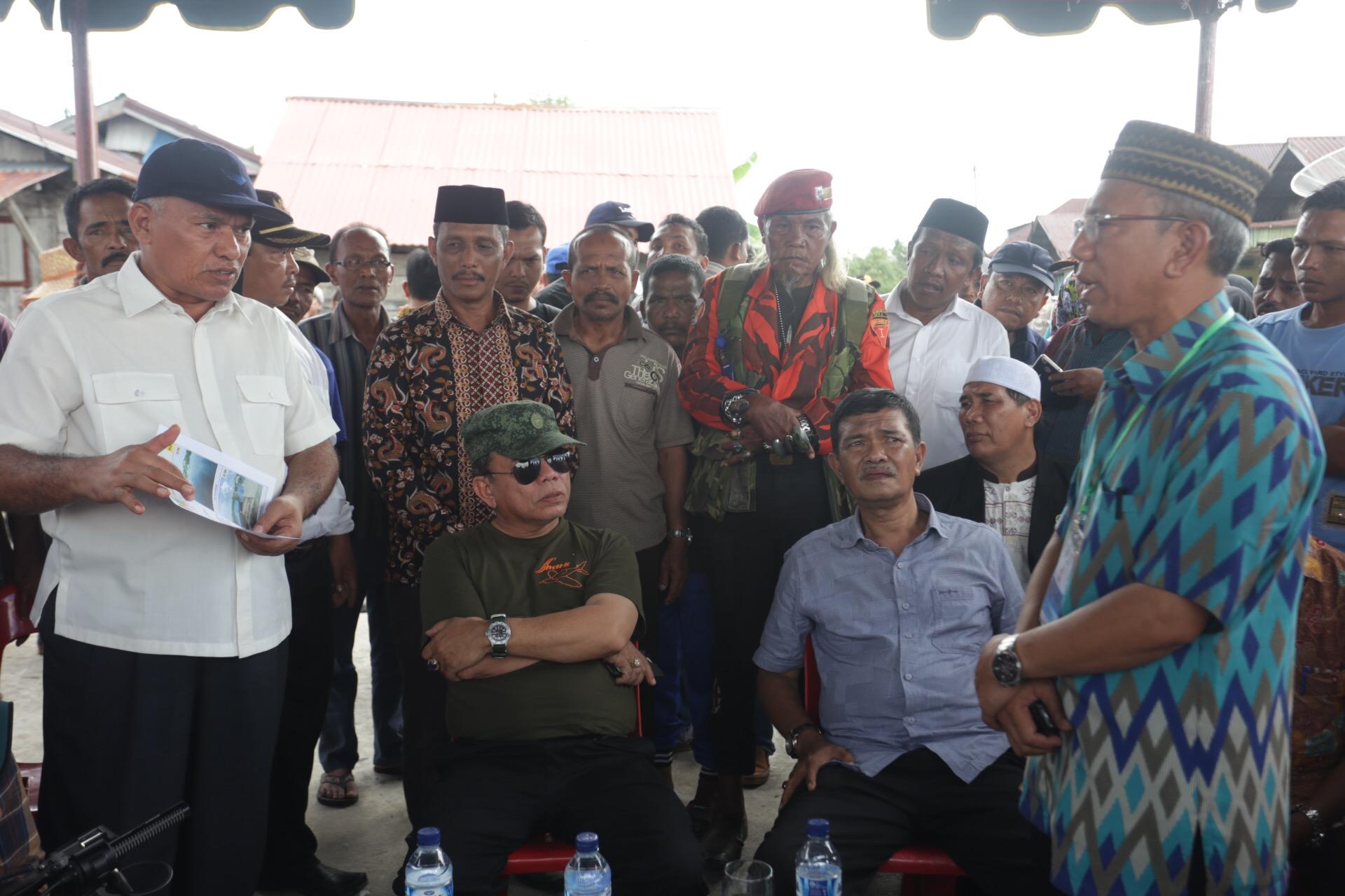 Gubernur Tinjau Proyek di Pedalaman Aceh Selatan dan Singkil