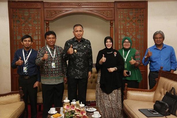 Wagub Terima Kunjungan Pimpinan BPJS Ketenagakerjaan