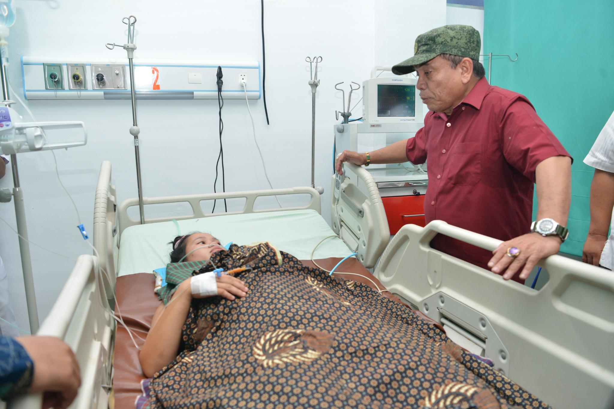 Gubernur Aceh Irwandi Yusuf Tinjau Dua Proyek di Aceh Tamiang
