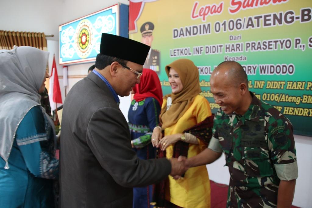 Letkol Hendry Widodo Jabat Dandim 0106/Aceh Tengah