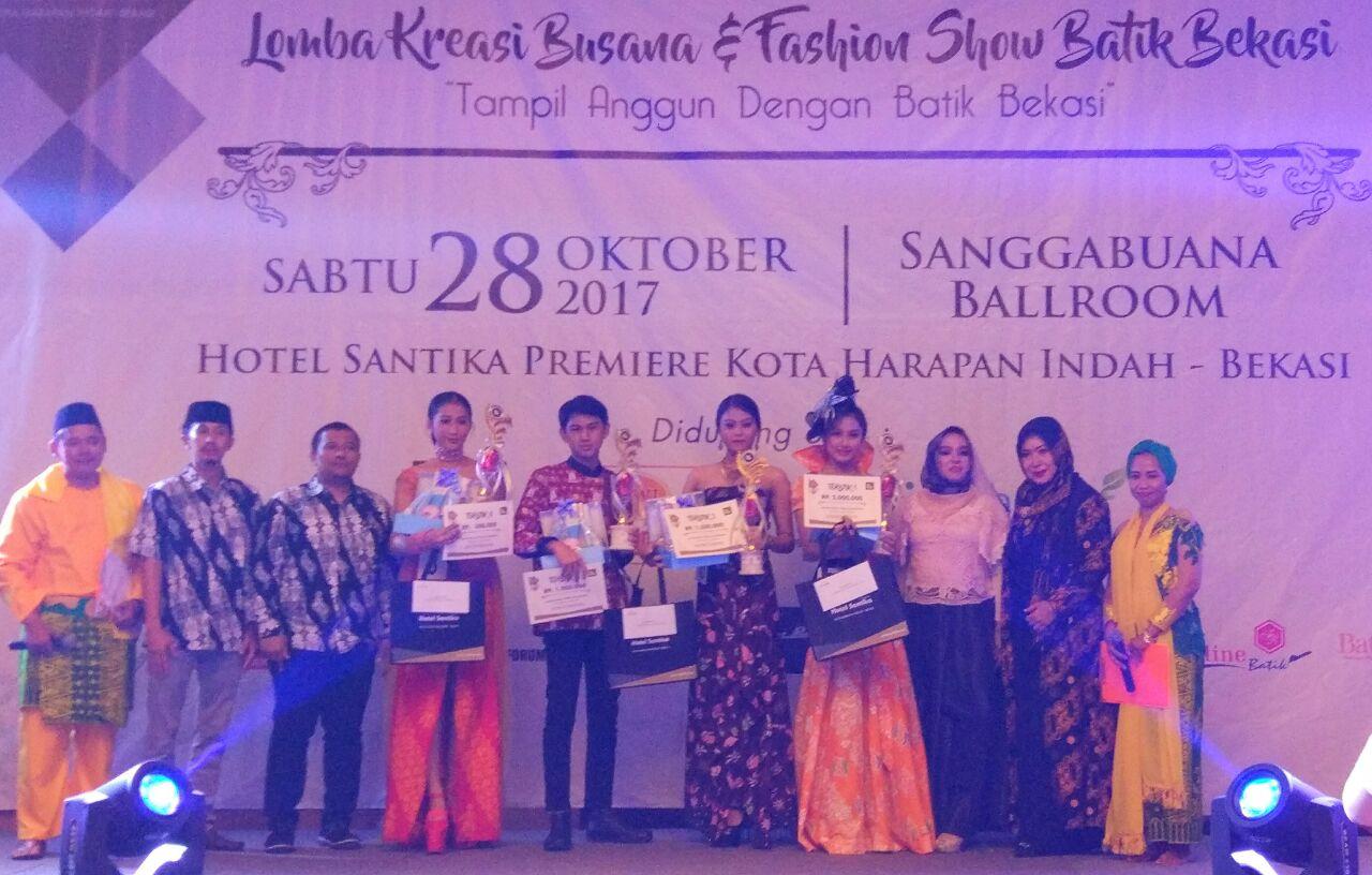 Pemkot Bekasi Pakemkan 50 Type Dari 12 Batik