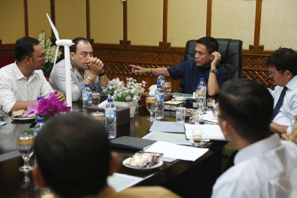 Perusahaan Perancis Kembangkan Energi Terbarukan di Aceh