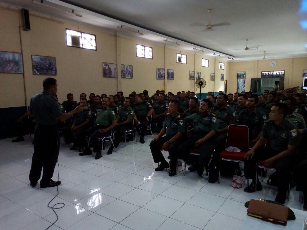 Kodim 0103/ Aceh Utara Beri Pembekalan Babinsa