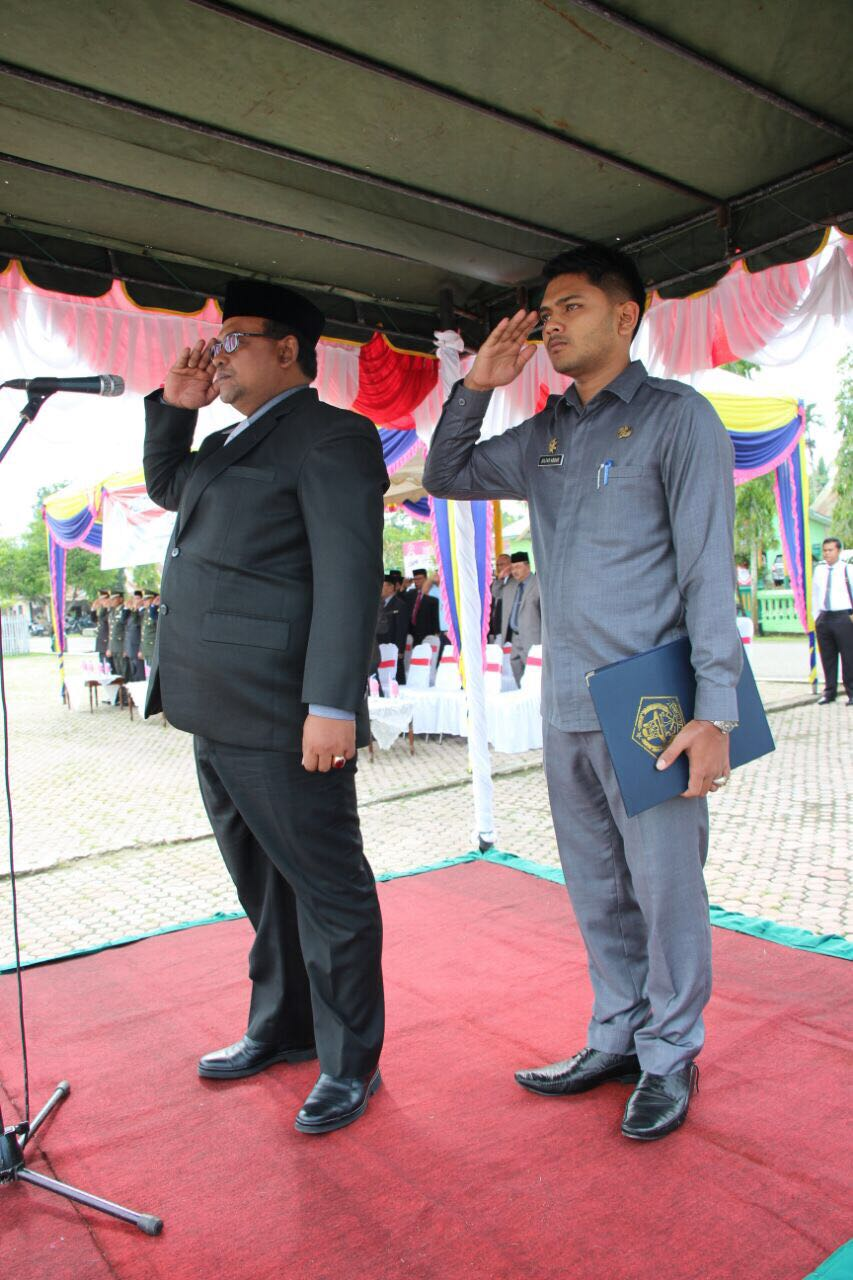 Wakil Bupati Aceh Utara Pimpin Upacara Hari Pahlawan ke-72 Tahun 2017