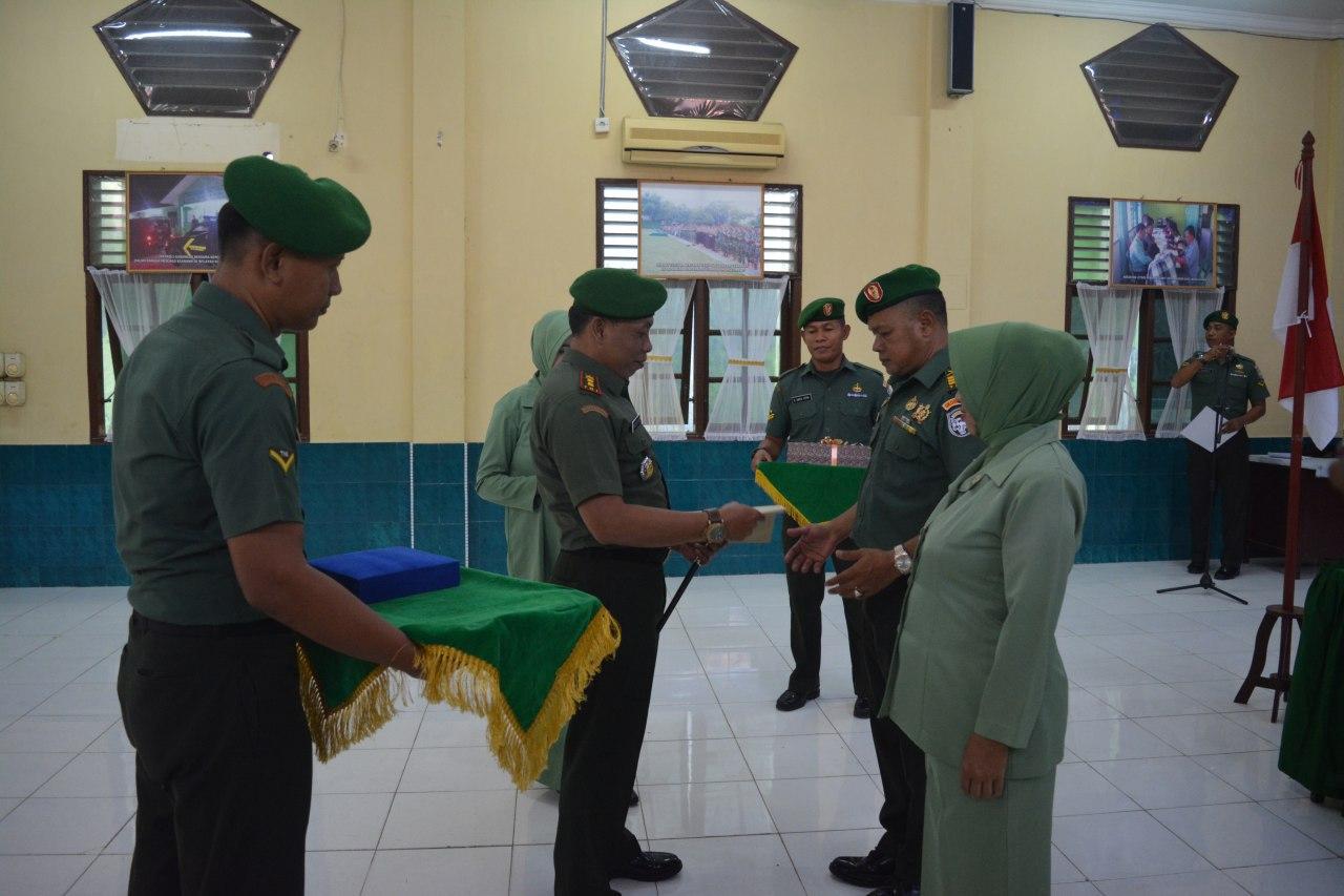 Mutasi Lima Danramil, Dandim 0103/Aceh Utara: Terima Kasih Telah Laksanakan Tugas Dengan Baik