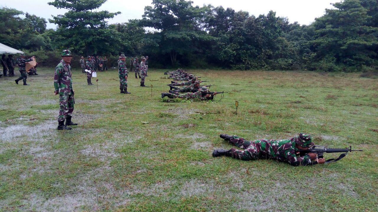 Dandim Aceh Utara : Babinsa Juga Harus Mahir Menembak