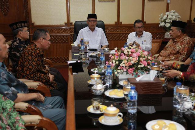 Wagub Aceh Terima Kunjungan Tim Mahkamah Agung RI