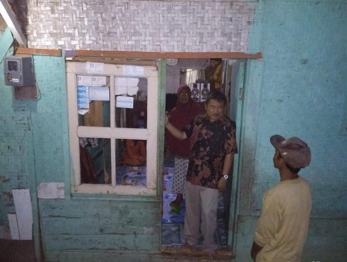 Pemkab Garut Renovasi Rumah Bilik Asep Bocah Penjual Kangkung