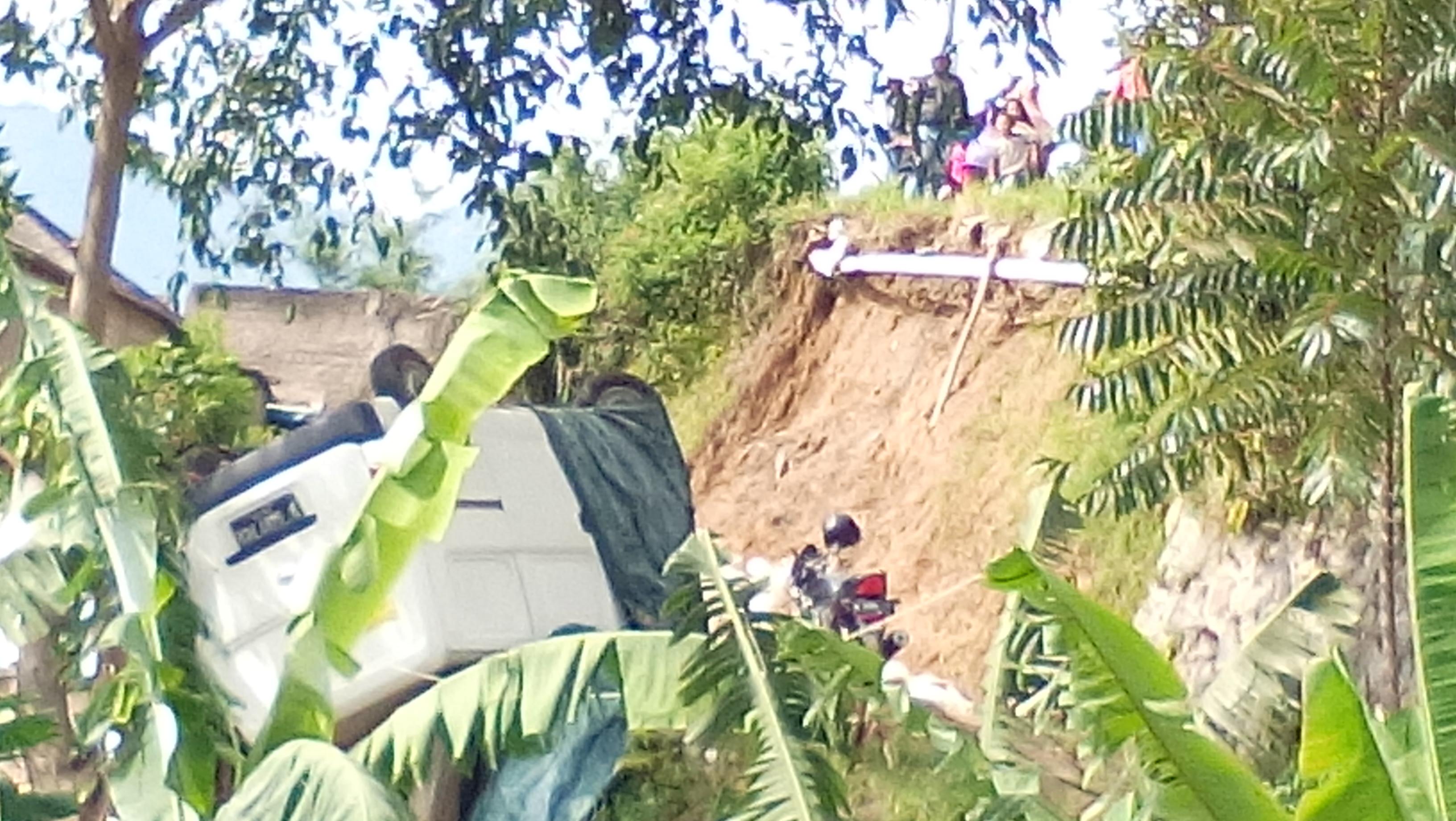 Polres Cimahi Dorong Dishub Segera Pasang Pagar Pengaman Jalan Parongpong