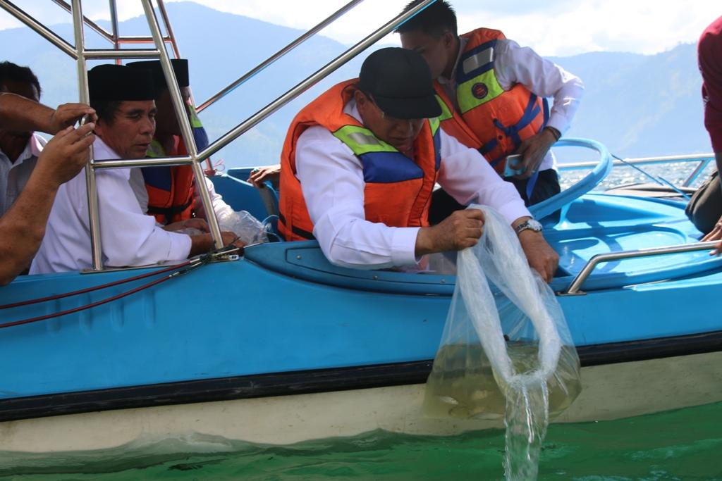 Ini Perlu Dilakukan Agar Ikan Asli Danau Laut Tawar Tetap Lestari