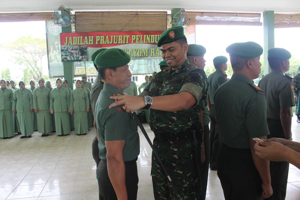 12 Perwira Kodim 0104 Aceh Timur Serah Terima Jabatan
