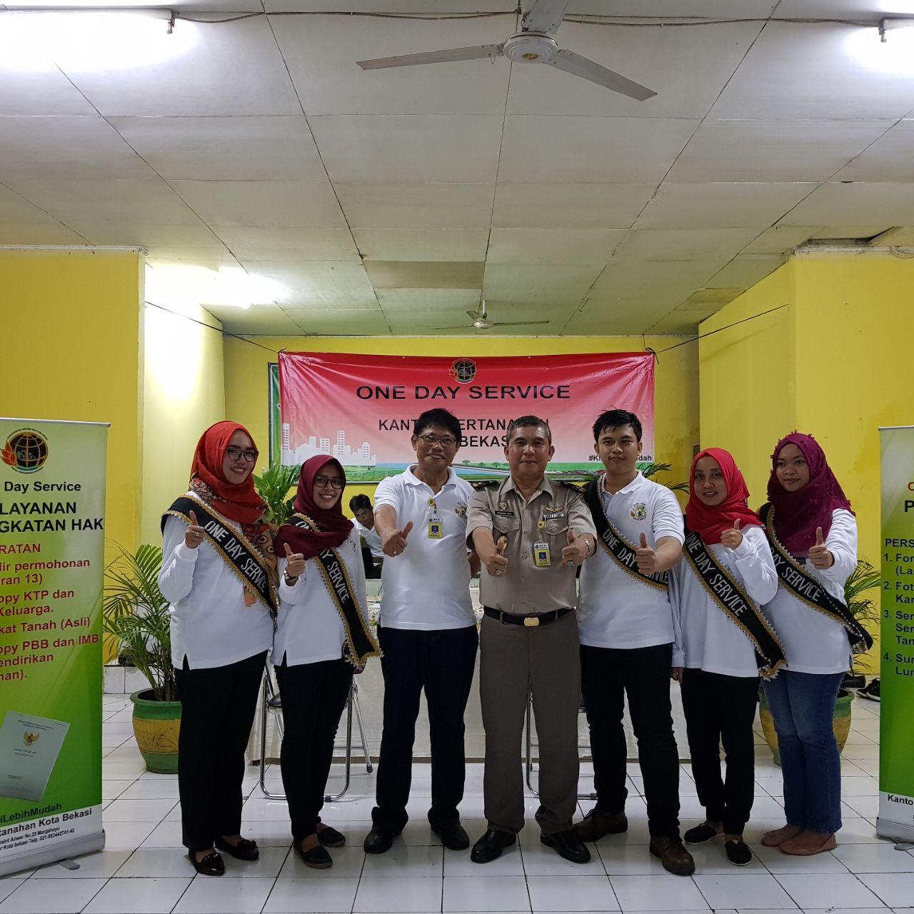 ATR/BPN Kota Bekasi Luncurkan Program One Day Service