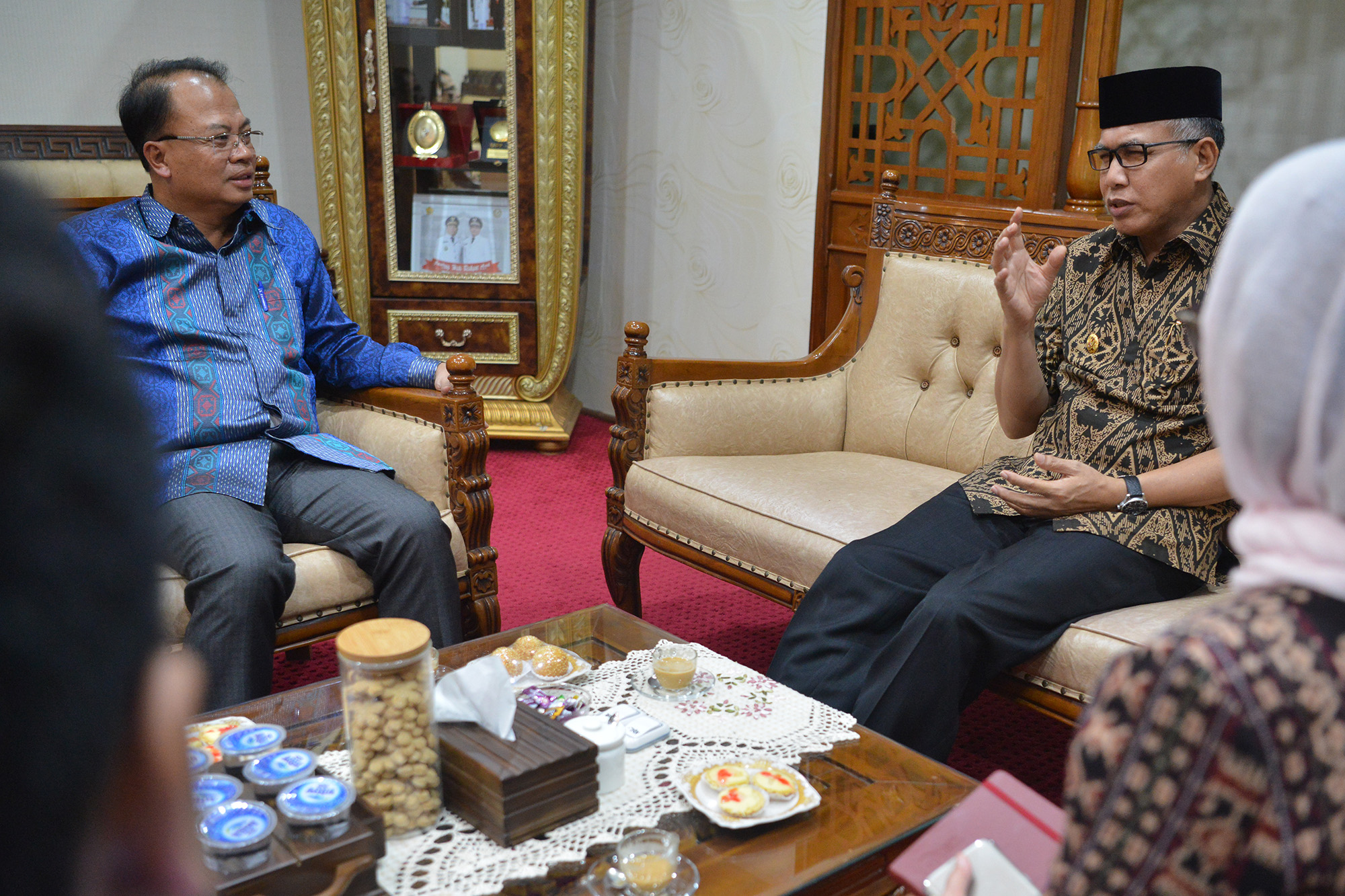 Wagub Aceh Kenalkan Potensi Aceh pada Ilmuan Malaysia