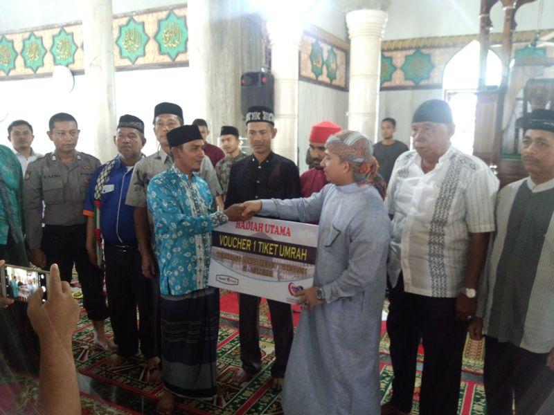 Masjid Baitul Quddus Madat Juara Utama Masjid Terbersih Aceh Timur Tahun 2017