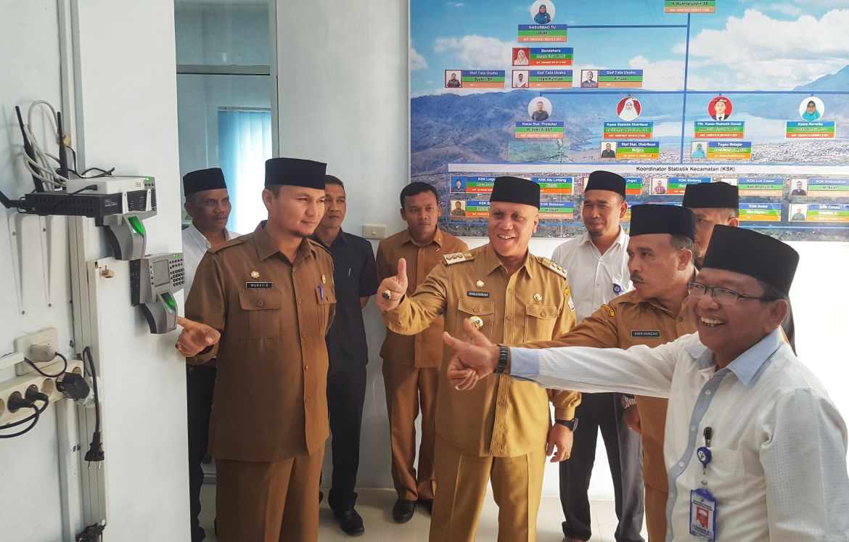 Kantor BPS Aceh Tengah Difungsikan