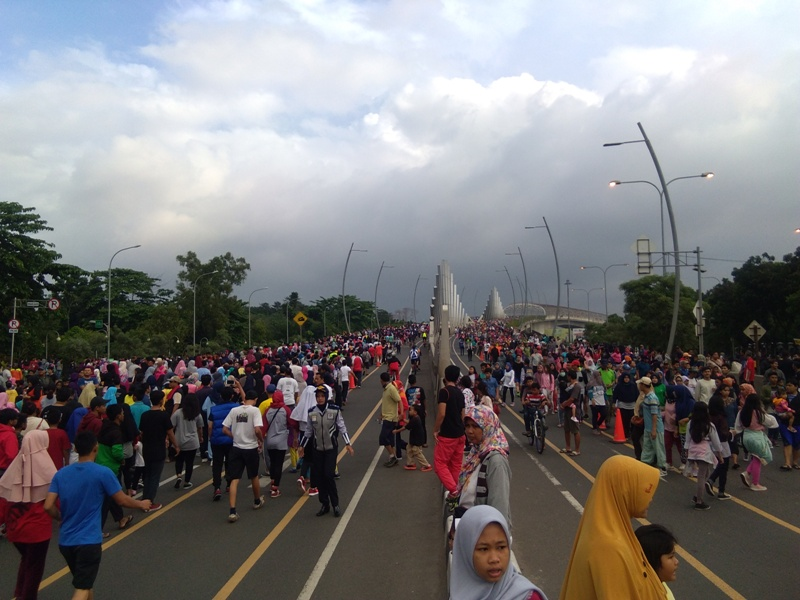 Gelaran BRI Bekasi Jaman Now, Dishub Tutup Jalan Boulevard Ahmad Yani