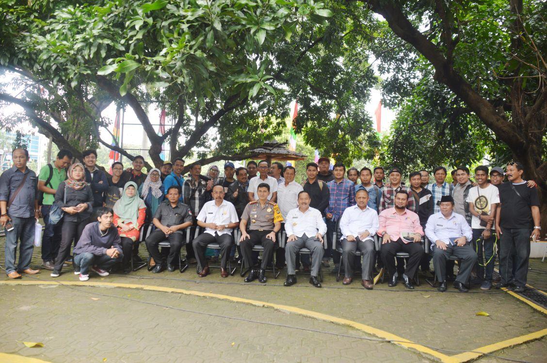 Dekatkan Diri dengan Insan Pers, Pjs Walikota Bekasi Coffee Morning Diskusi Bareng