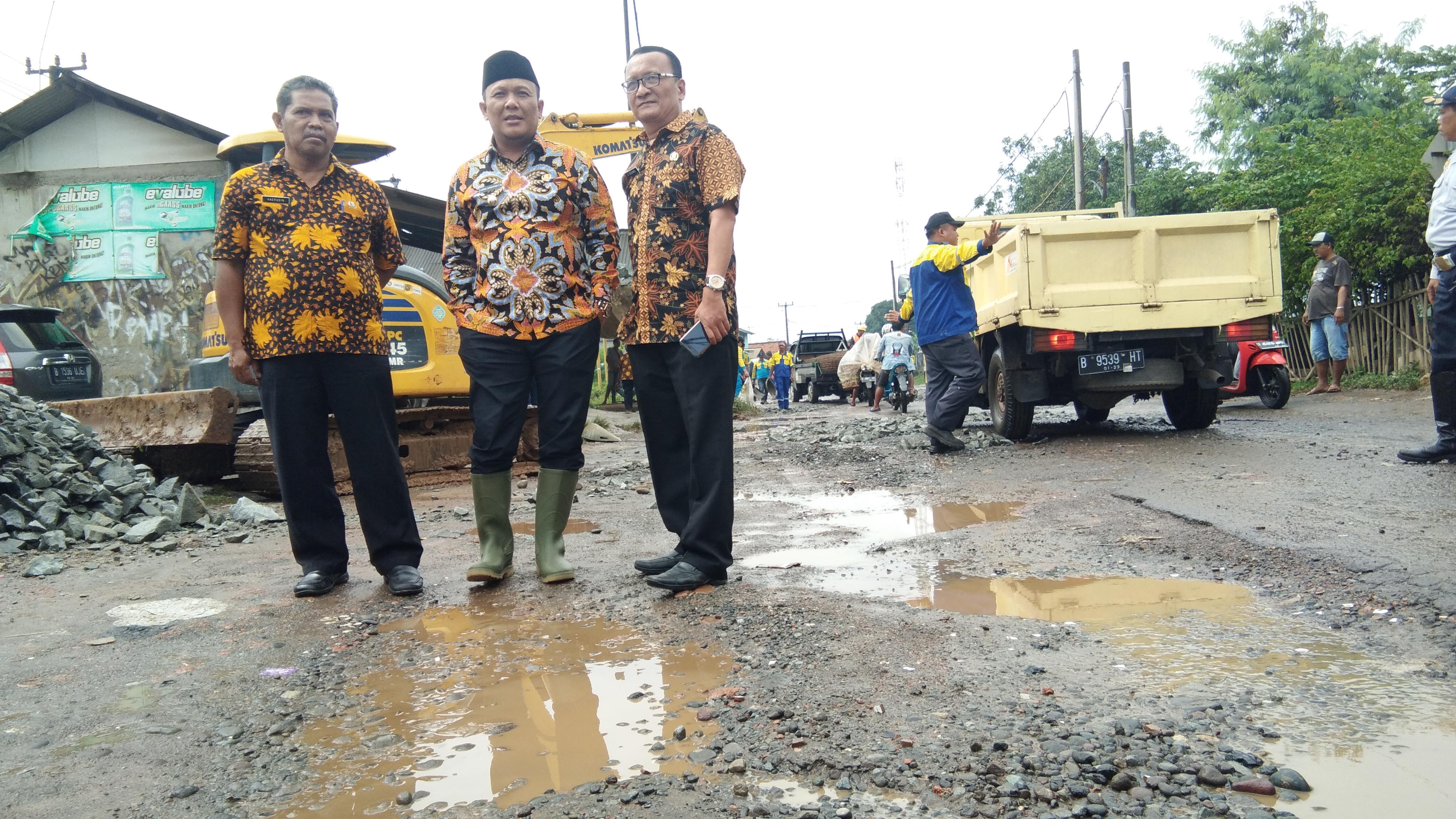 Perbaikan Jalan Kosambi-Telagasari Dianggarkan Rp 10 M