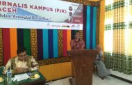 Kepala Biro Humas Aceh Ajak Mahasiswa Cegah Informasi dan Berita Hoax