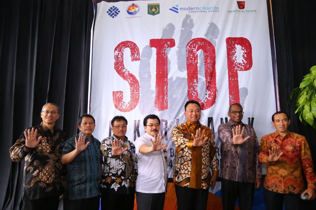 Kemnaker Tetapkan 2 Kawasan Industri Bebas Pekerja Anak di Provinsi Banten