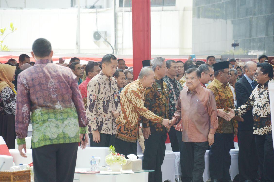 Pj Walikota Bekasi Hadiri Rakornas Perpustakaan Wapres Library
