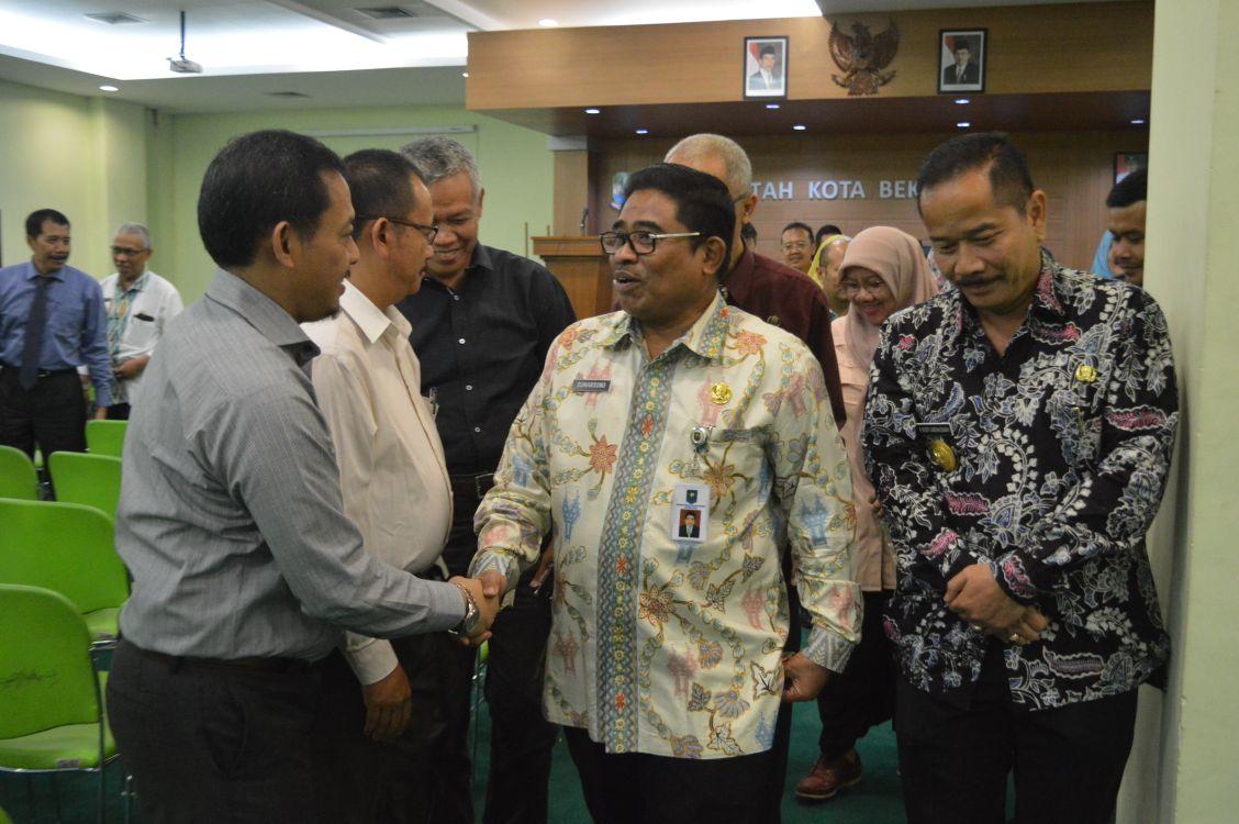 Dirjen Otda Sosialisasi Masa Transisi Kepala Daerah Kota Bekasi
