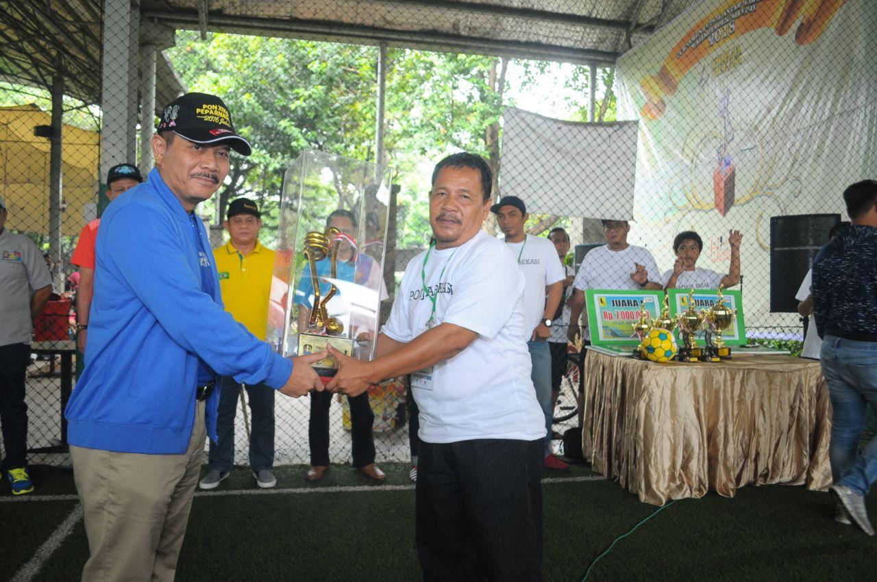 Penjabat Walikota Bekasi Resmi Buka Turnamen Walikota Cup Ke - 4