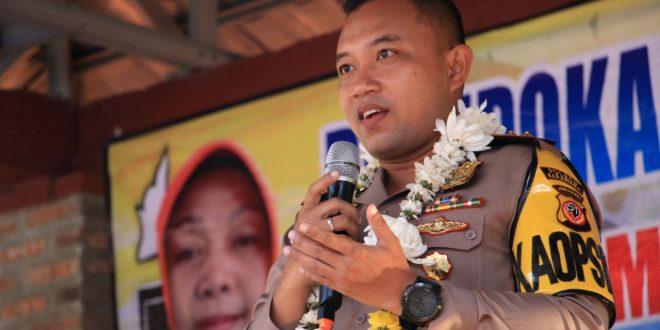 Ungkap Kasus Begal Dengan Korban Guru, Polres Karawang Kunjungan ke SMP 2 Bungursari