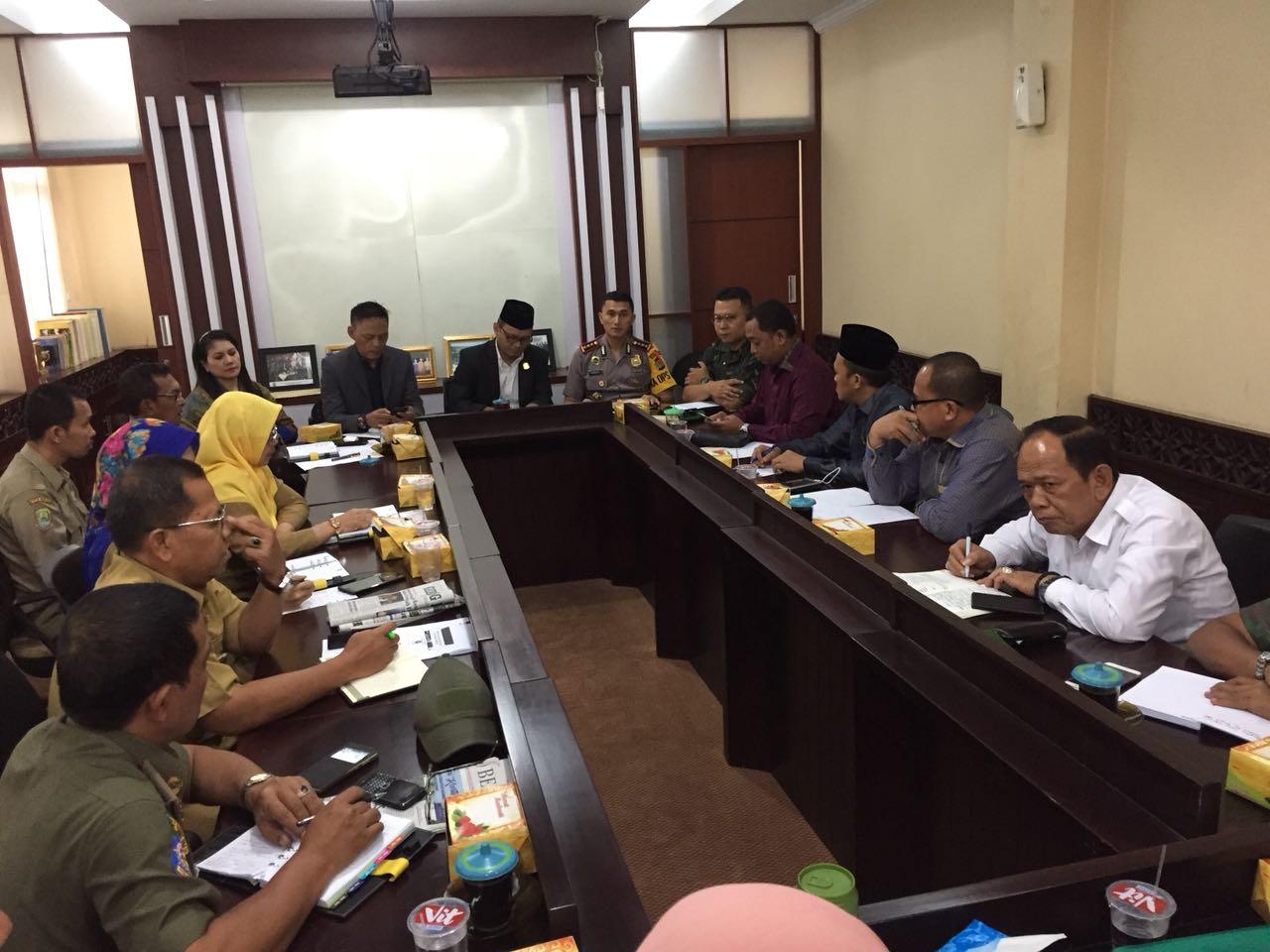 Monitoring Evaluasi Pilkada 2018, Komisi I DPRD Kota Bekasi Rapat Bersama Jajaran Muspida