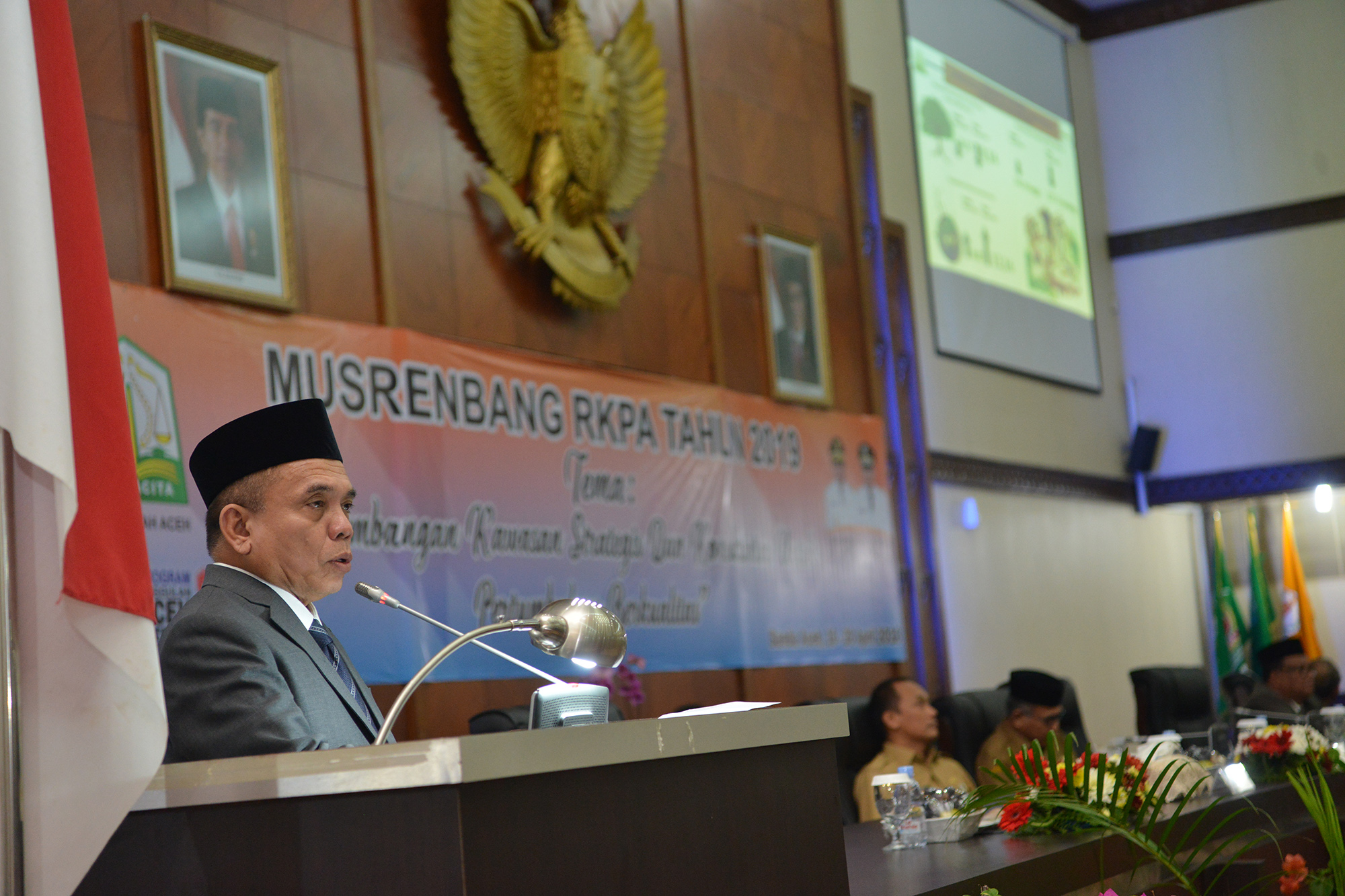 Gubernur Aceh Buka Musrenbang RKPA 2019