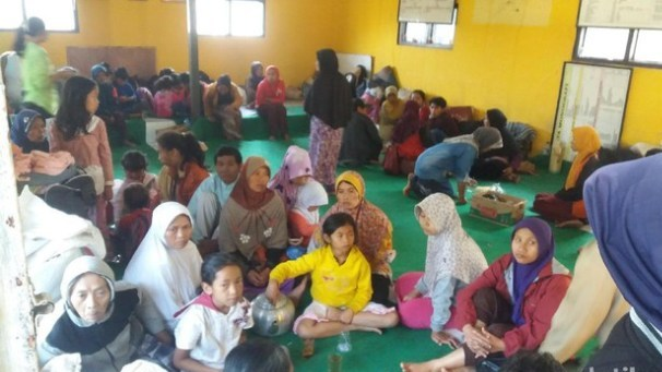 Akibat Gempa 4,4 SR di Banjarnegara, 2.104 Jiwa Mengungsi