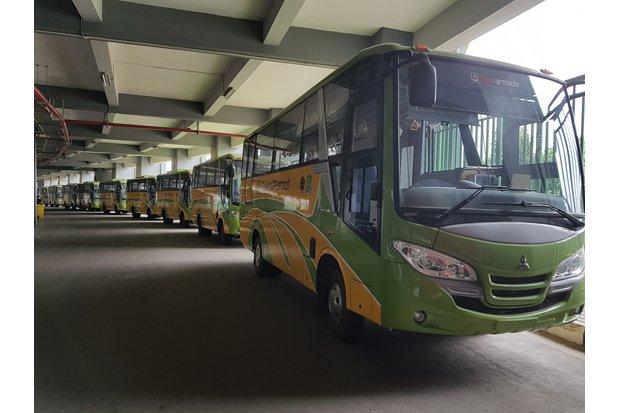 Juni 2018, Pemkot Bekasi Pastikan 9 Unit Bus Transpatriot Akan Mengaspal Jalan