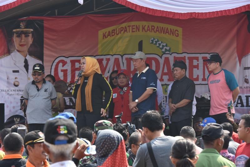 PATEN di Cikampek, Bupati Karawang Dialog dengan Kelompok Tani