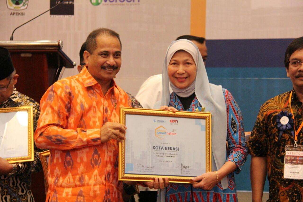 Raih Runner Up Smart Readiness, Pembangunan Kota Bekasi Dinilai Bagus