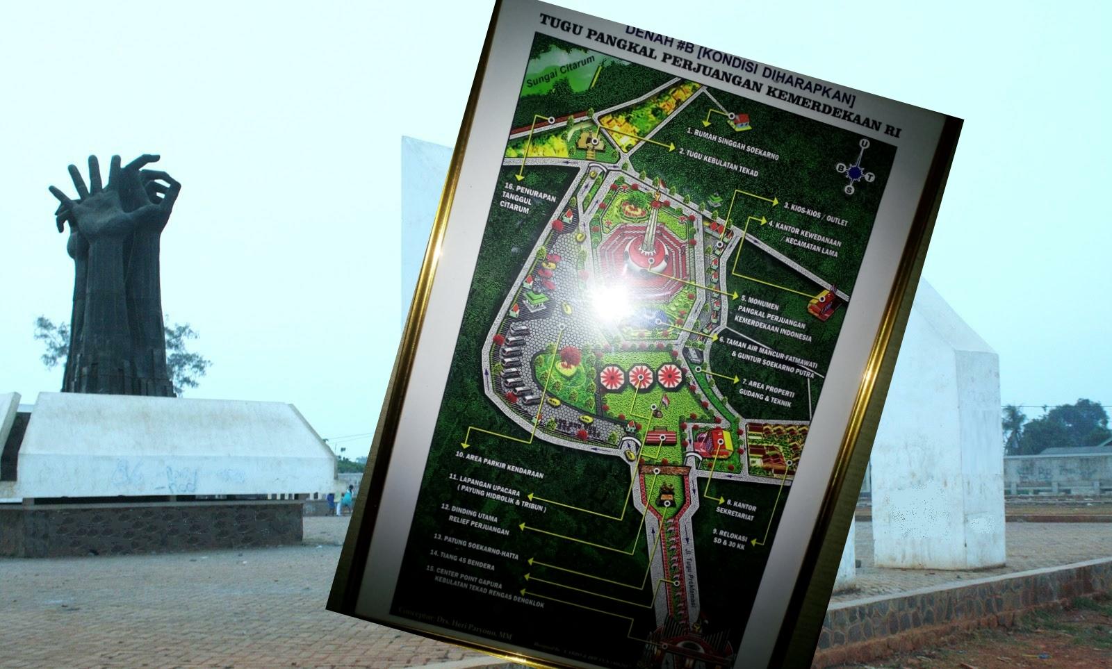 Rencana Bangun Monumen Pangkal Perjuangan 7 Hektar 'Dihadang' PUPR