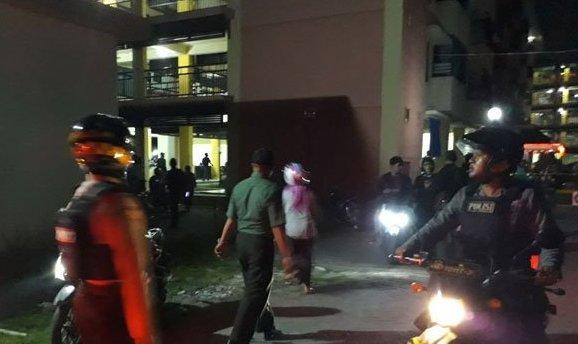 Malam Ini, Diduga Bom Rakitan Meledak di Rusun Belakang Polsek Taman Sepanjang Sidoarjo