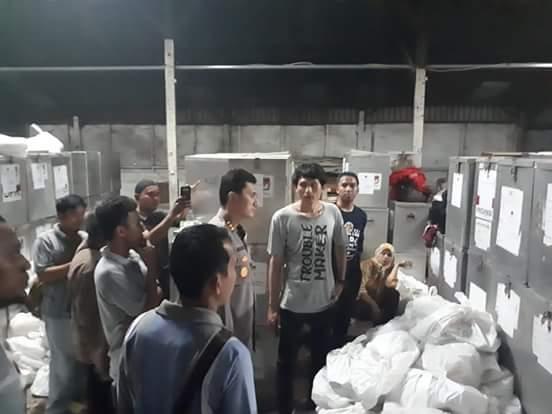 Kapolres Jamin Keamanan Gudang Logistik KPU Kota Bekasi