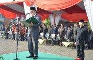 Peringati Hari Lahir Pancasila ke-73, Pj Wali Kota Bekasi Pimpin Upacara Bendera