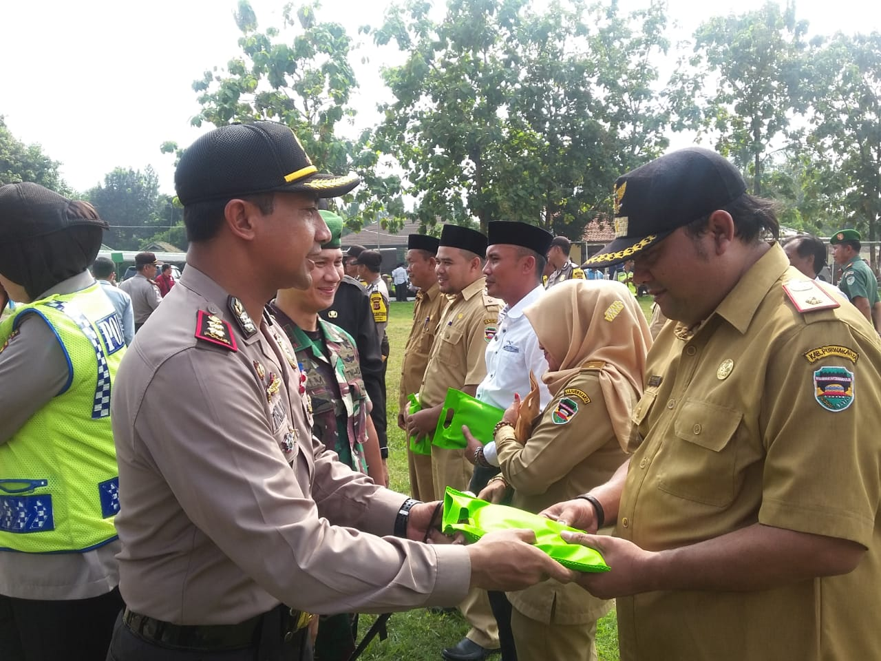 14 Kepala Desa di Purwakarta Dapat Penghargaan dari Kapolres
