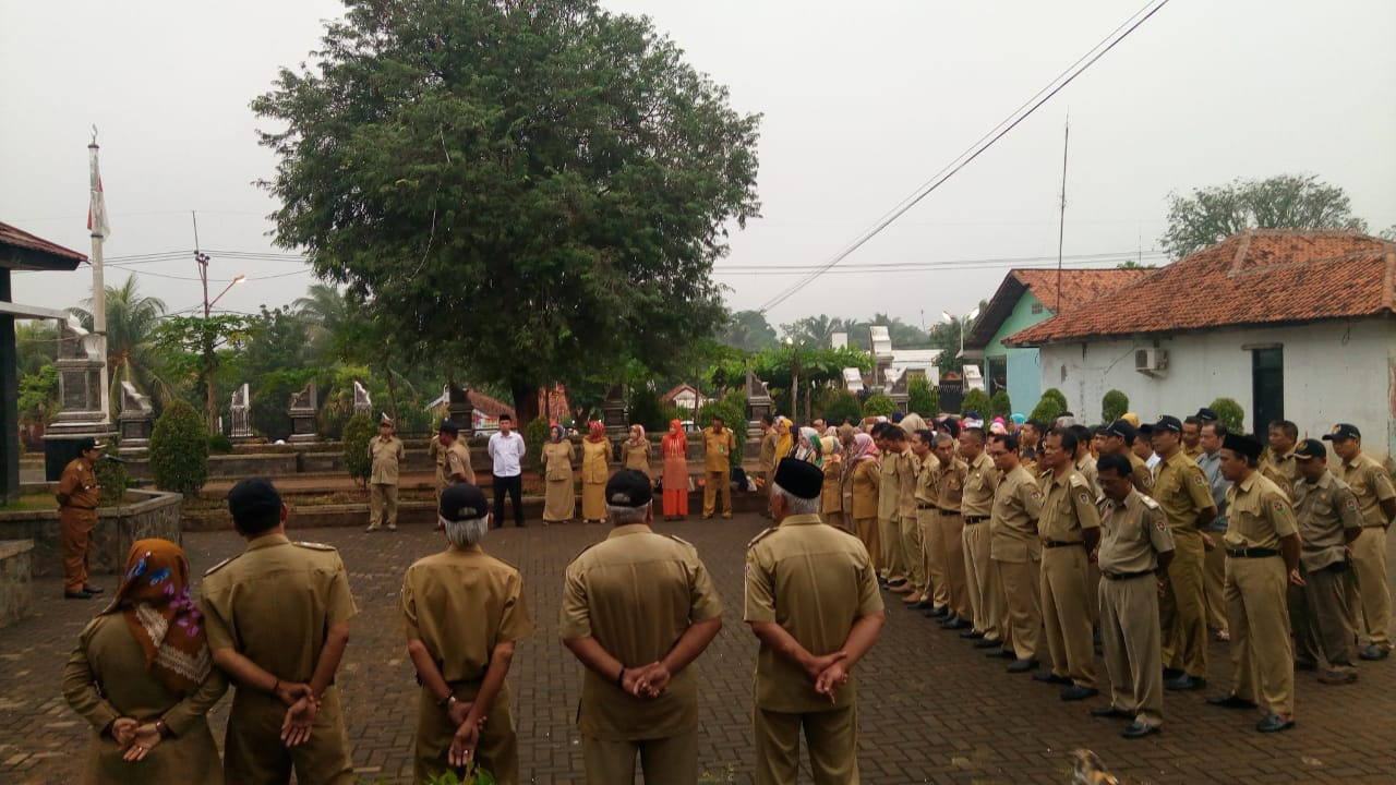Kecamatan Pasawahan Berpesan Jaga Netralisasi