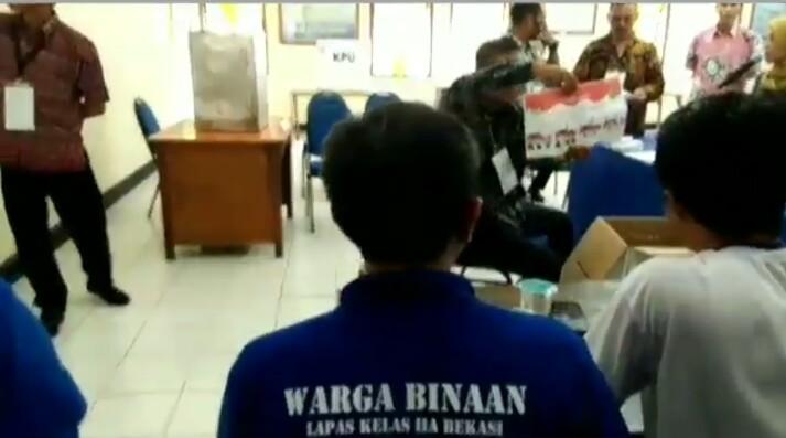 KPU Kota Bekasi Sediakan 2 TPS di Lapas Kelas II A Bekasi