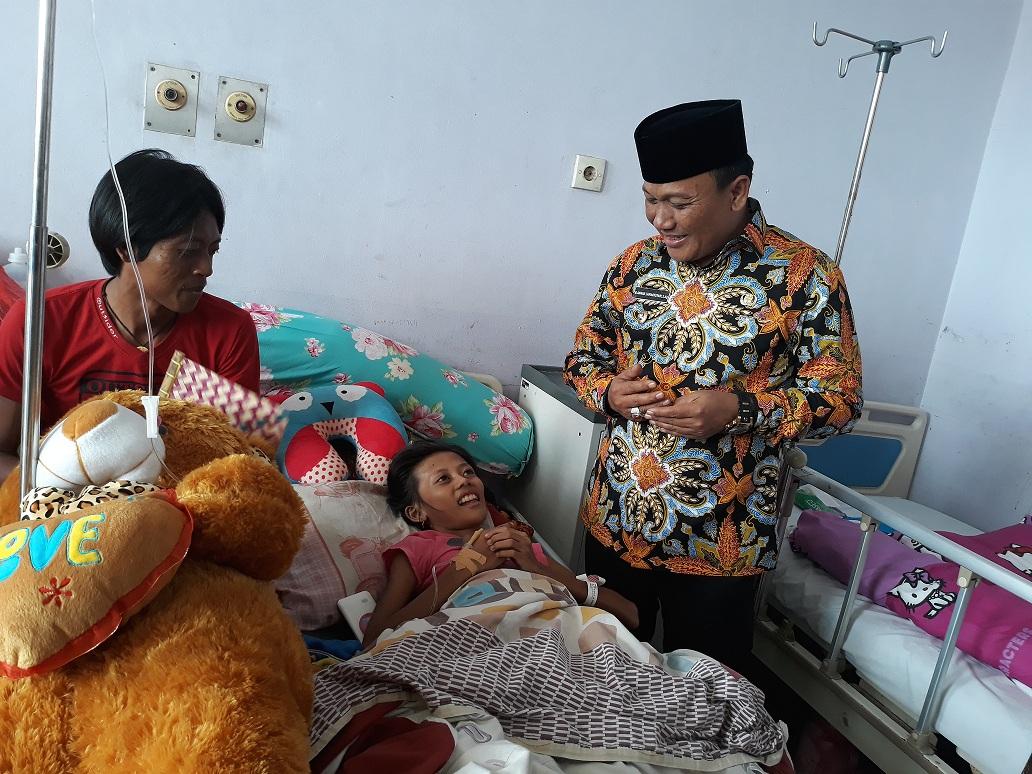 Kondisi Karmila Berangsur Pulih, Wabup Jimmy: Saya Percayakan Kepada Para Dokter