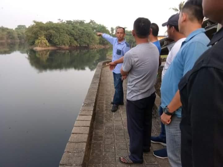 DPRD Desak Pemkab Selesaikan Masalah Pencemaran, Kapolres Karawang Datangi Bendung Barugbug